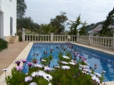 Дом с видом на море в г. Ллорет де Мар