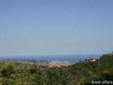 Равнинный участок не далеко от Барселоны, S 870 кв.м с прекрасным видом на море