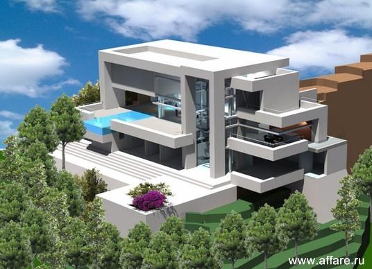 Шикарный современный дом в поселке Алтея Хилс с бассейном