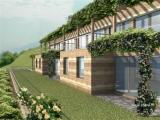 Современные апартаменты в Домазо в новом жилом комплексе c видом на озеро Комо