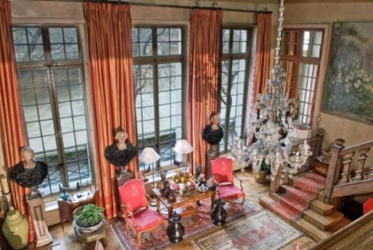 Роскошная квартира в Париже на острове SAINT LOUIS